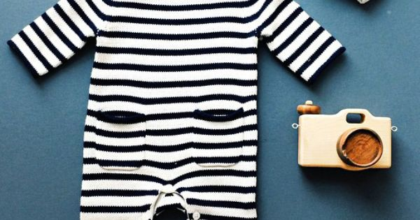 46d7a0e31952 wear  we heart little onesies like this cozy navy and white striped ...