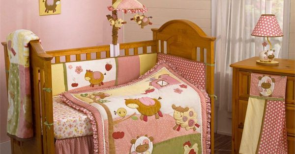 Diy Crafts For Baby Room: Abby's Farm Baby Bedding