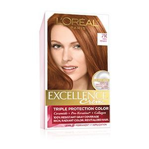 Creme Permanent Triple Protection Hair Color Loreal Hair Color