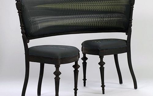 Fluid furniture by lila jang unusual furniture for Lila jang s canape