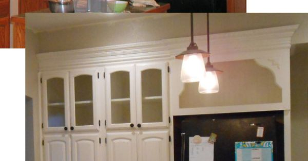Cece caldwell 39 s vintage white kitchen before after for Cece caldwell kitchen cabinets