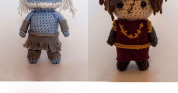 Game Of Thrones Amigurumi Pattern Free : Super cute Game of Thrones Amigurumi from Merique Crochet ...
