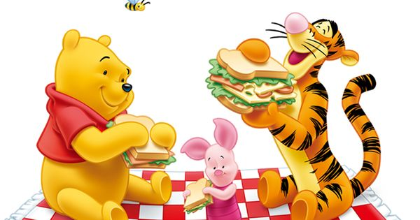 Winnie The Pooh And Tiger Png Free Clipart Birthday Gifs
