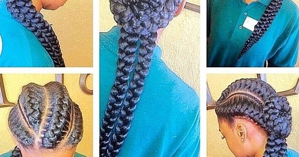 Crochet Braids Queue De Cheval : Inward goddess braids... Hair & Nails Pinterest Tresses De ...