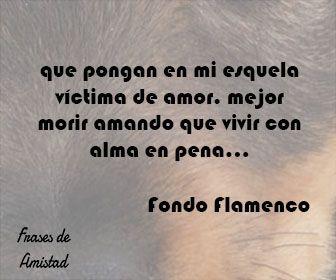 Frases De Canciones De Fondo Flamenco De Fondo Flamenco