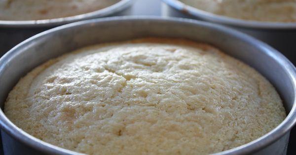 dense cake recipe for stacking