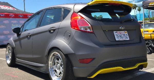 Mk7 Fiesta St Frp Rear Spoiler Extension Fiesta St Ford Fiesta St Custom Cars