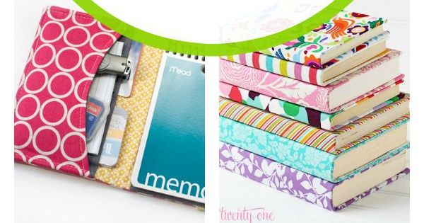 Lots of ideas for a DIY planner or journal that you can