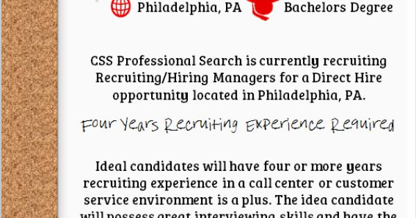 css pro search is hiring recruiting hiring managers in