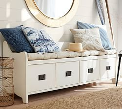 Samantha Entryway Bench Amp Shelf Antique White Bench Decor Living Room Storage Bench Living Room Bench