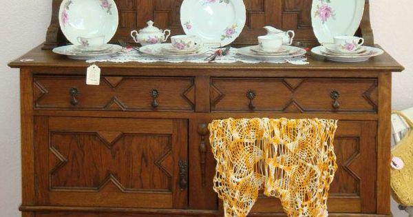 Gorgeous Victorian Oak Buffet.   Antique & Vintage Shabby ...