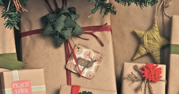 kraft paper wrapping ideas kraftpaper