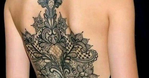 30 lace tattoo designs for women n i tetov l sok tetov l s tletek s vir gos. Black Bedroom Furniture Sets. Home Design Ideas