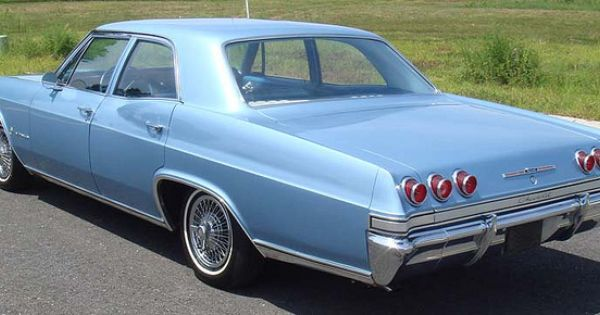 1965 Chevrolet Impala Blue Chevy 4 Door V8 Learned To Drive An Impala Like This Except