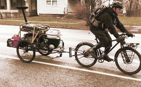The Best Survival Bicycle Bicycle Trailer Survival Bicycle