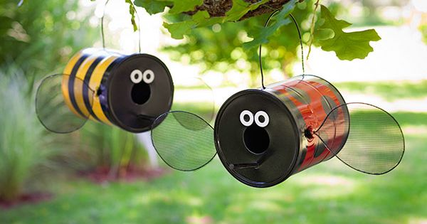 Garden craft from paint can