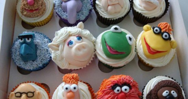 Wow! I want one...maybe a dozen! :-) Cupcake TheMuppets - I used
