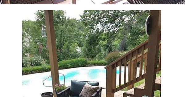 Oversized ottoman patio seating and patio on pinterest
