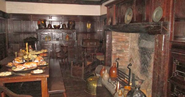 18th Century kitchen   Early Colonial, farmhouse interiors   Pinterest   18th century, Kitchens ...
