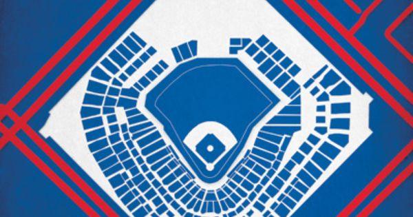 Pro Baseball Ballpark Poster Prints City Prints Map Art City Prints Map Art Prints