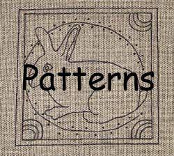 Rug Hooking Patterns Primitive