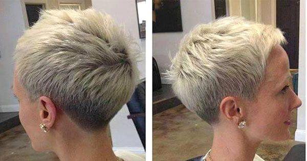Voor De Dames Die Van Korte Stekeltjes Houden Frisuren