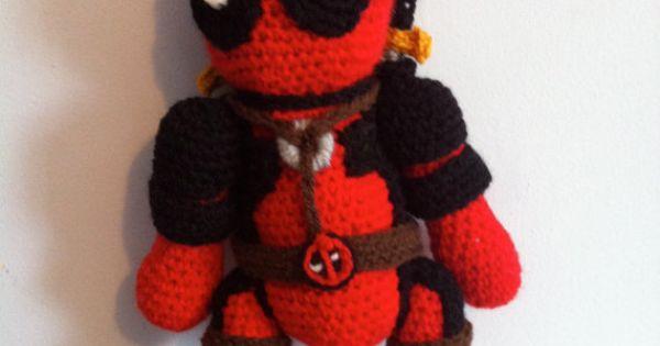 Solid Snake Amigurumi : Deadpool amigurumi crochet Marvel doll by JustAddAwesome ...