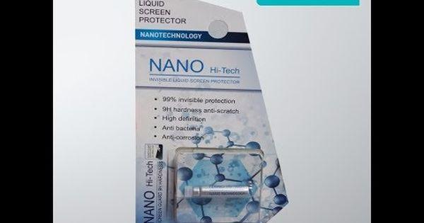 الكرستال السائل نانوا لحماية الشاشة ضد الكسر لجميع اجهزة الهاتف النقال س Nanotechnology Screen Protector Protector