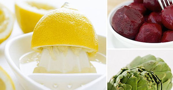 10 Detox Foods - whether it's post holiday, post junk food binge,