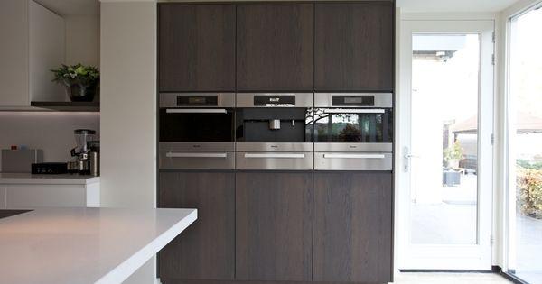 Maatwerk keuken met kookeiland woning binnen buiten pinterest keuken binnen buiten en - Moderne woning buiten lay outs ...
