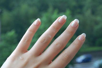 How To Make Your Fingernails Look White Under The Underside Of Your Nails Make Nails White White Nails Fingernails