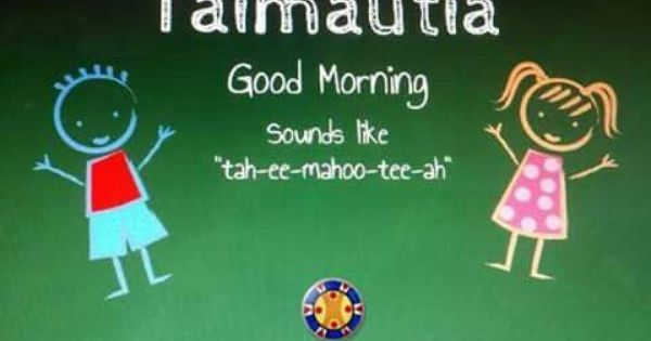 Good Morning In Puerto Rican Spanish : Good morning taimautia taino indians seneko