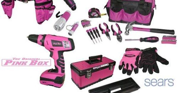 Sears Pink Box Pink Tool Box Pink Tools Tool Box