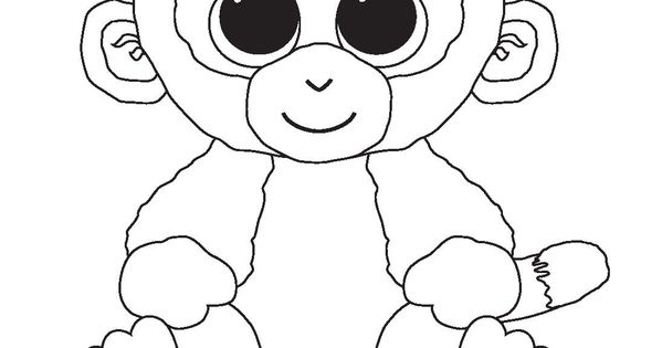 Ty Beanie Coloring Pages