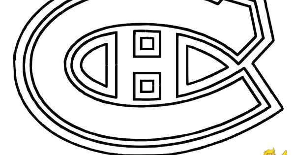 montreal canadiens nhl coloring