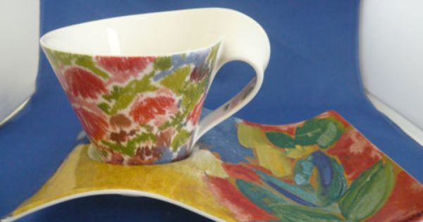 Villeroy Boch New Wave Caffe Mombasa Cappuccino Cup New