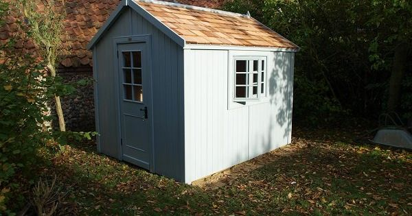 9x7 potting shed from the posh shed company garden shed for Garden shed 9x7