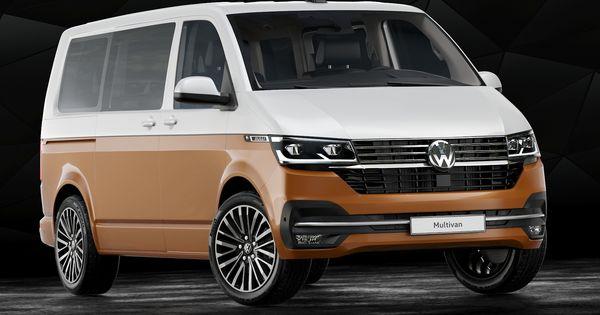 3d 2020 Volkswagen Transporter T6 1 Model Volkswagen Transporter Volkswagen Mini Van