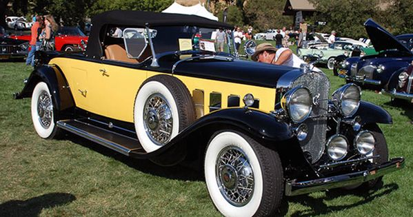 1931 12 Cylinder Cadillac 370a Roadster Was An Indy Pace