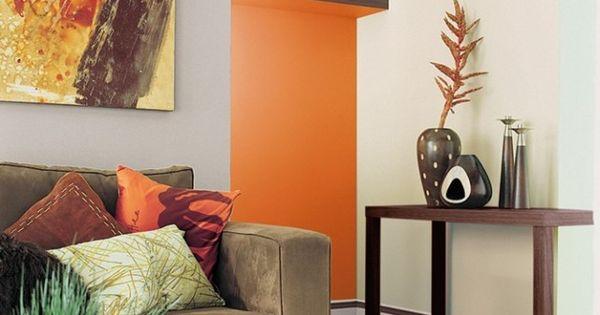 peinture associer les couleurs avec harmonie canap taupe couleurs chaudes et taupe. Black Bedroom Furniture Sets. Home Design Ideas