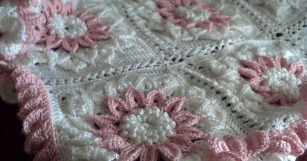 X993 Crochet Pattern : The Crocodile Flower pattern by Joyce D. Lewis Flower ...