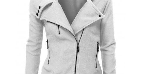 Ware Women Fleece Zip Up Jacket | My fashion sense | Pinterest