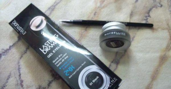 Maybelline Eye Studio Lasting Drama Gel Eyeliner Black Review