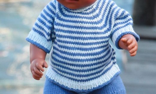 Knitting Pattern For Doll Carrier : FREE KNITTING PATTERNS DOLL CLOTHES - Browse Patterns BabyBorn Pinterest ...