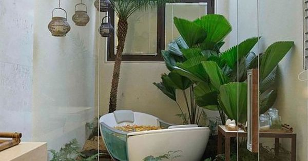 10 bathroom ideas that will make it actually feel like for Spring bathroom ideas