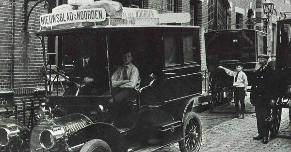 Nieuwsblad van het noorden kocht in 1910 een auto een for M and m motors appomattox