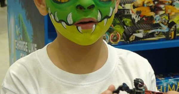 face painting crocodile Game Lego Chima | face painting ...