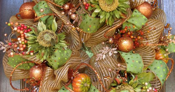 Bing fall decor imges | fall wreaths - Bing Images | Fall