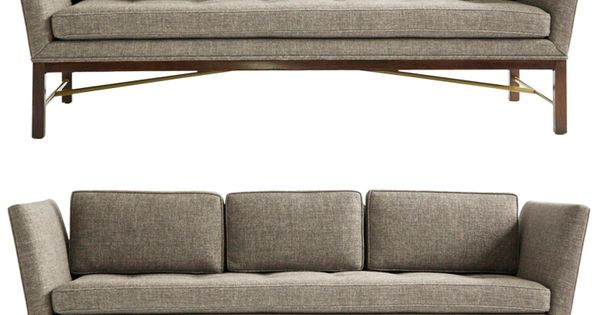 Pair Of Edward Wormley Sofas Edward Wormley Furniture Decor And Mid Century Modern