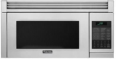 Viking Rvmhc330ss 1 1 Cu Ft Over The Range Microwave Oven With Convection Instant Sensor 300 Cfm 10 Power Levels And Add A Minute Range Microwave Convection Microwaves Microwave Hood